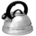 Prime Pacific 3-qt. Whistling Tea Kettle; Silver