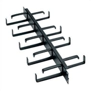 Middle Atlantic 19'' W Front & Rear D-Ring Horizontal Cable Manager; 3 1/2'' H (2U space)