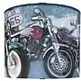 Illumalite Designs Motorcycles Drum Lamp Shade; 11''