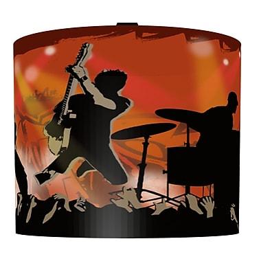 Illumalite Designs Rock Show Drum Lamp Shade; 7''