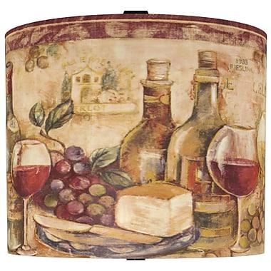 Illumalite Designs Wine Still Life Drum Lamp Shade; 11''