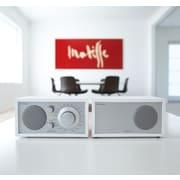 Tivoli Audio LLC Model Two AM/FM Table Radio; White and Silver