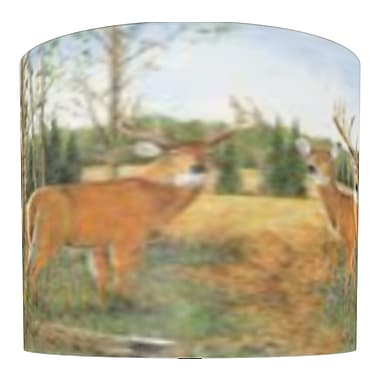 Illumalite Designs Deer Prairie Drum Lamp Shade; 7''