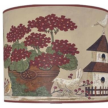 Illumalite Designs Inspirational Garden Drum Lamp Shade; 11''