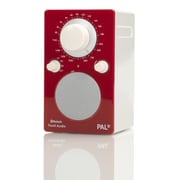 Tivoli Audio LLC PAL BT Bluetooth Portable Radio; Gloss Red and White