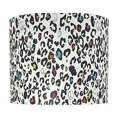 Illumalite Designs Peace Signs Drum Lamp Shade; 7''