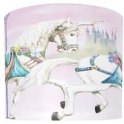Illumalite Designs Unicorn Carousel Drum Lamp Shade; 11''