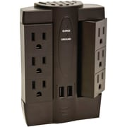Axis Outlet 45514 Swivel Surge Protector with USB Ports