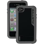 Ballistic Every1 iPhone 4/4S EX0891-A02C Case, Black & Dark Charcoal