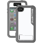 Ballistic Every1 iPhone 4/4S EX0891-A38C Case, White & Charcoal Gray