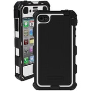 Ballistic Hc iPhone 4/4S HC0778-A08C Hard Core Case with Holster, White & Black