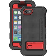 Ballistic Hc iPhone(R) 5/5s HC1267-A30C Hard Core(R) Case with Holster, Black TPU/Red PC/B