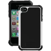 Ballistic Tough Jacket TJ0582-A08C Case for iPhone 4/4s, Black & White