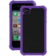 Ballistic Tough Jacket TJ0582-A66C Case for iPhone 4/4s, Black & Grape Purple
