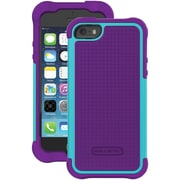 Ballistic Tough Jacket TJ0926-A67C Case for iPhone 5/5S, Grape Purple & Teal Blue