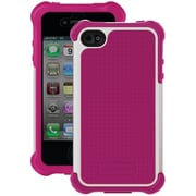Ballistic Tough Jacket Maxx Case TX0907-A05C iPhone 4/4s, Hot Pink & White