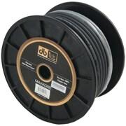 Db Link 100% OFC Copper MKPW4BK100 Soft Touch Power/Ground Wire, Black Ground