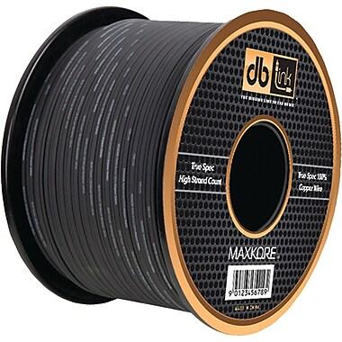 Db Link Black Soft Touch MKSW10BK100 Speaker Wire, 10 Gauge, 100ft