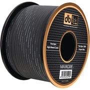 Db Link Black Soft Touch MKSW10BK100 Speaker Wire, 10 Gauge, 100ft