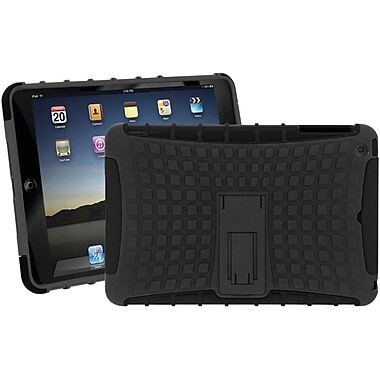Iessentials iPad Mini Rugged Stand Case, Black