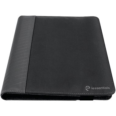 iessentials IEUF10BK Pleather Folio Case for 10