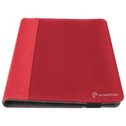"iessentials IEUF10RD Pleather Folio Case for 10"" Apple iPad Mini, Samsung Galaxy, Kindle Fire, Red"