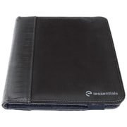"iessentials IEUF7BK Pleather Folio Case for 8"" Apple iPad Mini, Samsung Galaxy, Kindle Fire, Black"