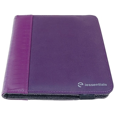 iessentials IEUF7PRP Pleather Folio Case for 8