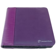 "iessentials IEUF7PRP Pleather Folio Case for 8"" Apple iPad Mini, Samsung Galaxy, Kindle Fire, Purple"