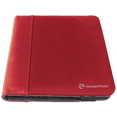 iessentials IEUF7RD Pleather Folio Case for 8