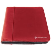 "iessentials IEUF7RD Pleather Folio Case for 8"" Apple iPad Mini, Samsung Galaxy, Kindle Fire, Red"