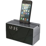 Ilive Blue DPI/GPX-PERSONAL Amp PORTABLE ICB284S Bluetooth Speaker With Clock & Fm Radio