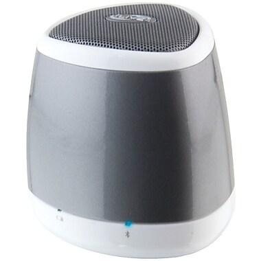 Ilive Blue Portable ISB23S Bluetooth Speaker, Silver