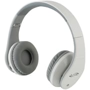 Ilive Blue IAHB64B Bluetooth IAHB64W Headphones, White