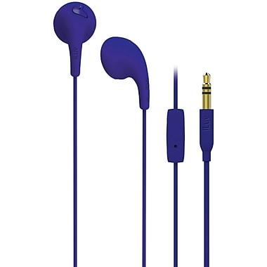 Iluv BubbleGumTalk BBGUMTALKSPU Earphones with Microphone Control, Purple