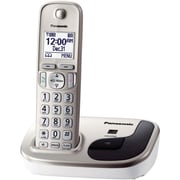 Panasonic Expandable Digital KX-TGD210N Cordless Phone, 1 Handset