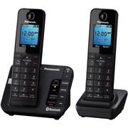 Panasonic Digital KX-TGH262B Cordless Handset, 2 Handset