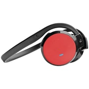 Pyle-Home Stereo Bluetooth PHBT5R Streaming Wireless Headphones with Microphone, Red