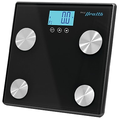 Pyle-Sport Bluetooth PHLSCBT4BK Digital Weight Personal Health Scale, Black