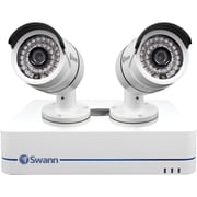 Swann 4-Channel SWNVK-470852-US 720p NVR, 2 Security Cameras