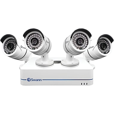 Swann 4-Channel SWNVK-470854-US 720p NVR, 4 Security Cameras