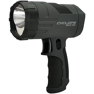 Cyclops REVO CYC-X700SLA Handheld Rechargeable Spotlight, 700-Lumen