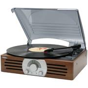 Jensen 3-Speed Stereo Turntable with AM/FM Stereo Radio (JENJTA222)