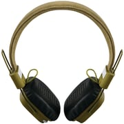 Outdoor Tech Privates Touch Control OT1400-AG Wireless Bluetooth Headphones, Army Green