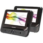 Sylvania Dual Widescreen SDVD8739 Portable DVD Player, 7