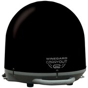 Winegard Carryout G2 GM-2035 Automatic Portable Satellite TV Antenna, Black