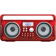 Isound Bluetooth ISOUND-6264 Rechargeable Boom Box, Red