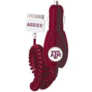 Mizco Sports iPhone 30-Pin NCAA-CLI-TXA Car Charger, Texas A&M