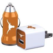 Mizco Sports Home & Away NCAA-2PK-TXL Charger 2 pk, Texas Longhorns