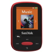 SanDisk Clip Sport SDMX24-004G-A46R 4GB MP3 Player, Red